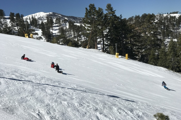 Grab your riding buddies and get up here for wide open mid-week runs.
