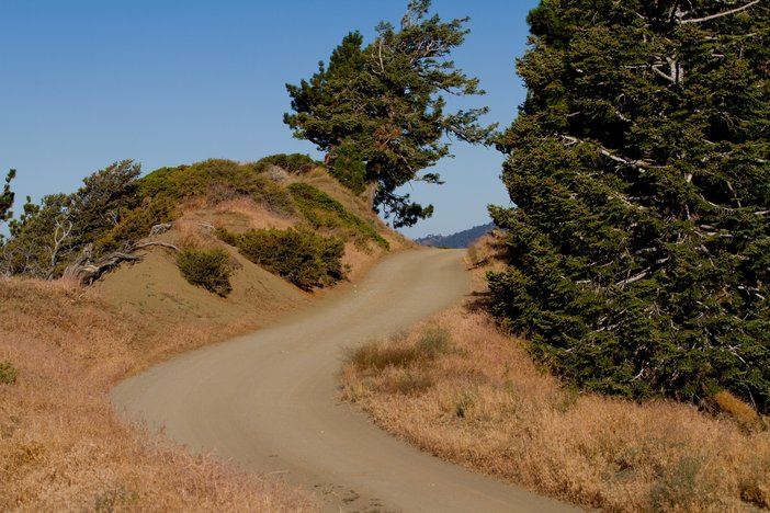 Old Blue Ridge road.