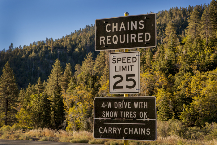Chains required? Caltrans prepping for the coming winter.
