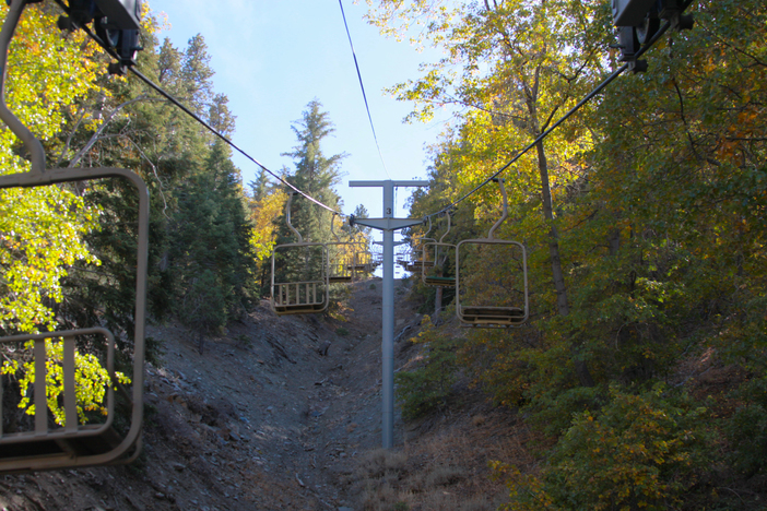 Chair lift to your happy place.