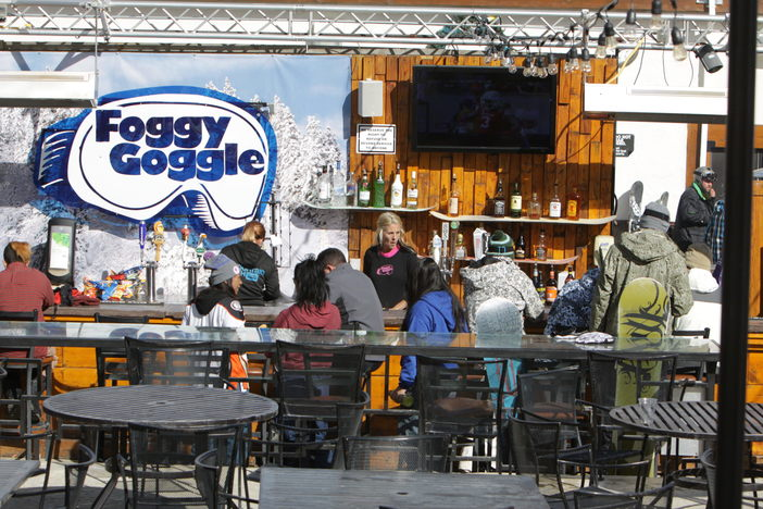 Need a break? Come watch the NFL games at the Foggy Goggle and grab yourself a cold one.