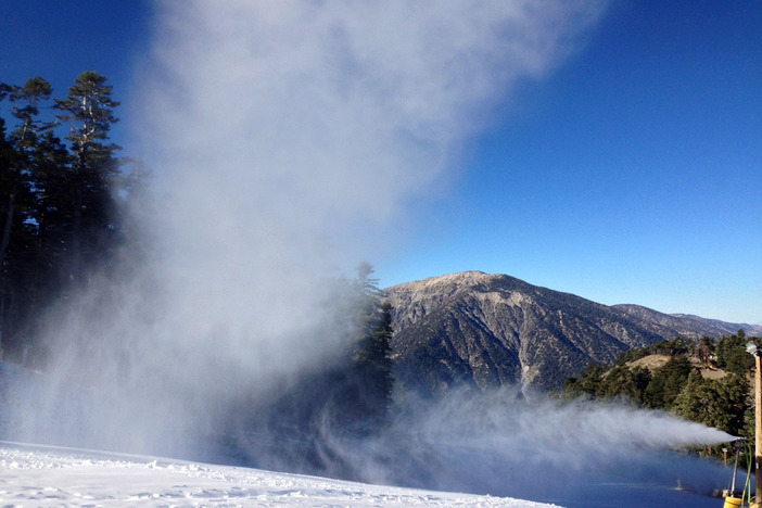 Mt. Baden-Powell view from the summit.