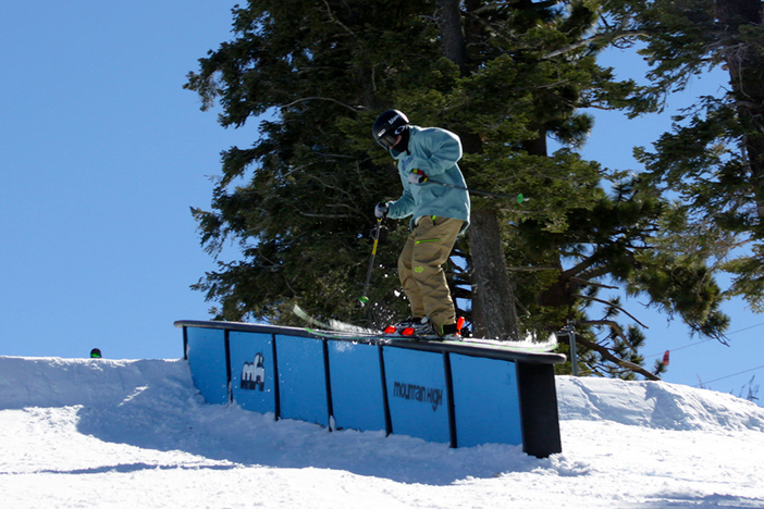 Sliding the Ledge box top of Upper Chisolm.