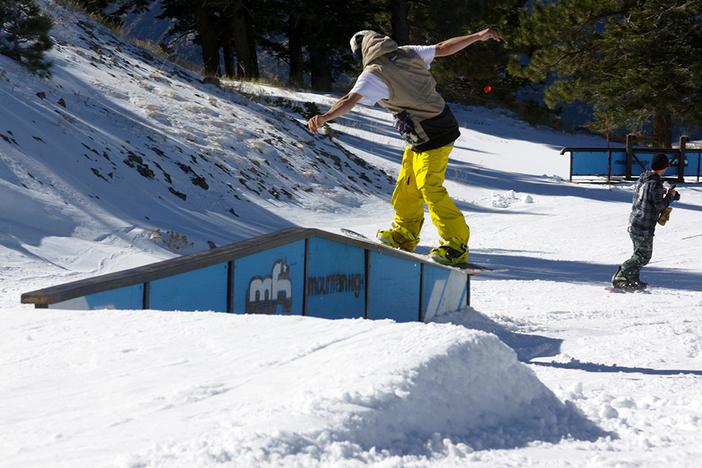 @JFloen 50/50 to front board slide.