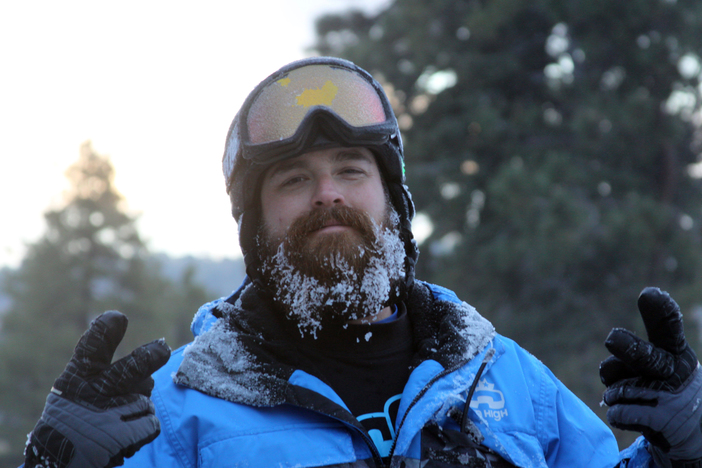 Our snowmakers have ice in their veins.  And their hair.