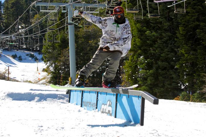 @Schroeder_bee_ enjoying the rails.