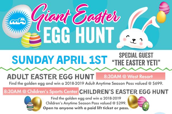 Mountain High - Giant Easter Egg Hunt