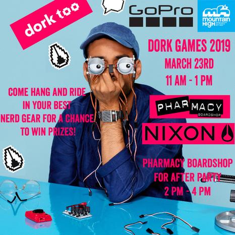 Mountain High - Nixon x Pharmacy Dork Games 2019